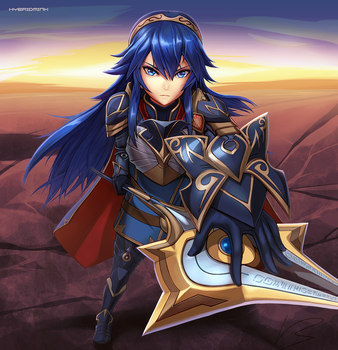 Lucina, Brave Princess by hybridmink
