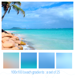 beach gradients by onlyalive8