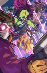 Guardians of the Galaxy by edwinhuang