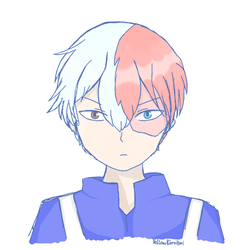Todoroki by YellowKiiroitori