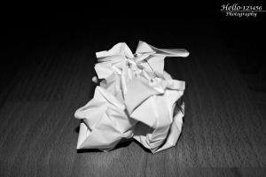 Crumpled Imperfection by hello-123456