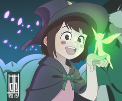 Little Witch Academia by drawpelsin