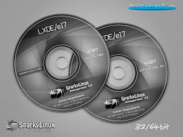 SparkyLinux 3.0 Annagerman LXDE/e17-Labels by MiroZarta