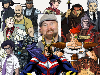 Character Compilation: Christopher Sabat[Revised2] by Melodiousnocturne24