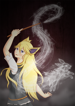 [UP] ~ Gryffindor Patronus by FetchTheTable