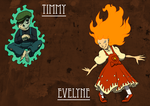 Timmy and Evelyne by Morgoth883