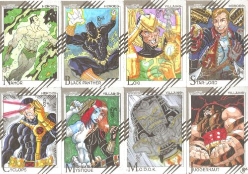 Cards Marvel Fleer Retro 03 by The-Satsui