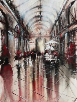 Passage - Watercolor by nicolasjolly