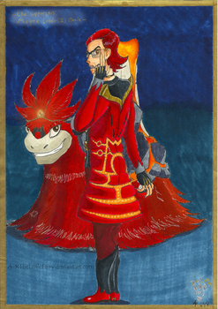 Dot.Art - Characters: Magma Leader(II) Maxie by A-KTheLittleFairy