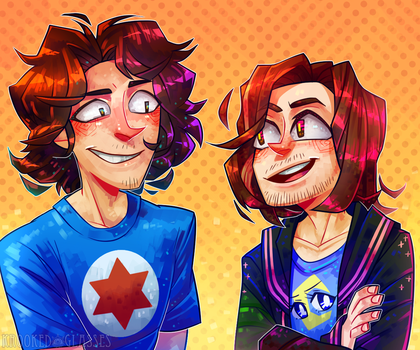 [Game Grumps] Felt it was time... by Krooked-Glasses