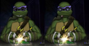 Donatello Side by Side by tamalero