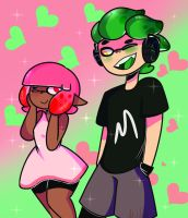 Inkling Love //Redraw by Strawberry-Milku