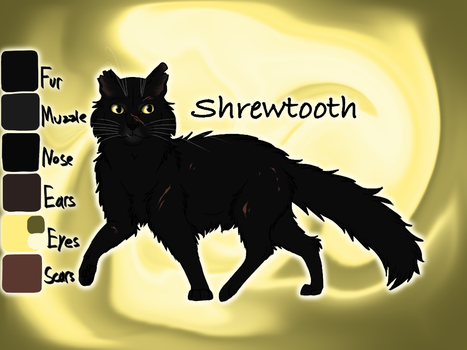 Shrewtooth of SkyClan - Sasha's Calling by Jayie-The-Hufflepuff