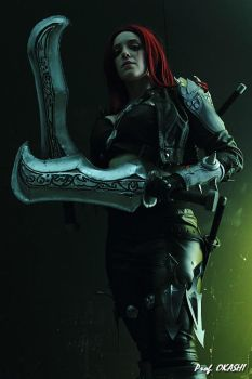 Katarina cosplay from League of Legends by Galuren