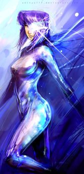 Ghost in the shell by aditya777