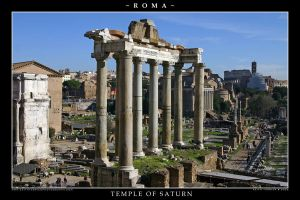 Temple of Saturn by Keith-Killer
