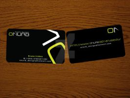 bussines card Onurb by onurb-design