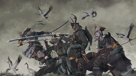 For Honor - The Dance of the Cranes by IFrAgMenTIx