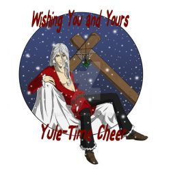 Ullr's Yule time wish by lacewing