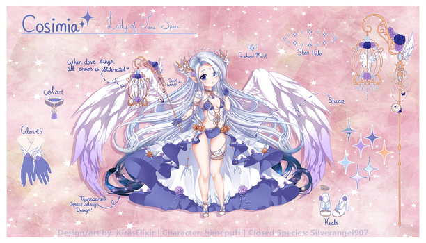 Custom Design: Cosimia by KirasElixir