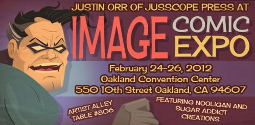 Image Comic Expo Oakland CA by jusscope