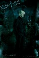 HP 7 Poster: Draco Malfoy by Cute-Ruki
