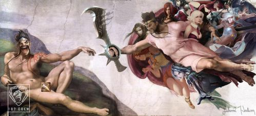 Creation of Draven by DeepSpeeD