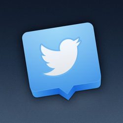 Twitter Icon for Mac (Yosemite Edition) by marc2o