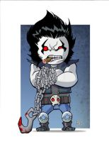 LiL Dude Lobo COLORED by MARR-PHEOS