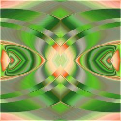UF-Challenge Orange-and-Green # 1 + params by Escara40