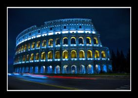 The Colosseum - Rome by Jimit
