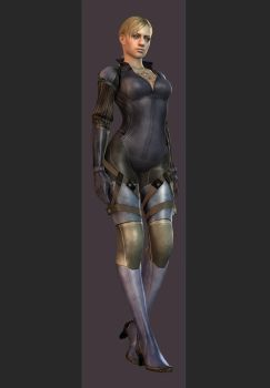 XPS - RE5 - Jill Valentine Desperate Escape Outfit by henryque999