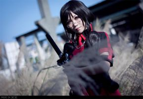 Blood-C_Kisaragi Saya 02 by WinryDeeDee