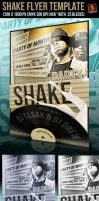 Party Shake Flyer Template by survivorcz