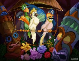 The Enchanted Tiki Room by KileyBeecher
