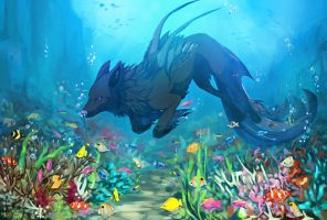 .:Coral Reef:. by Aviaku