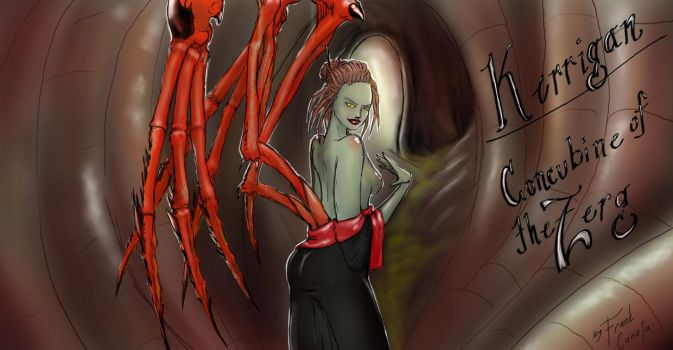Kerrigan: Concubin of the Zerg by heartking52
