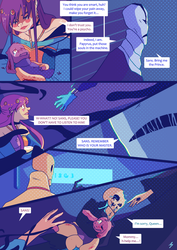 Undertale comic - Hellsiblings - 93 by marvyanaka