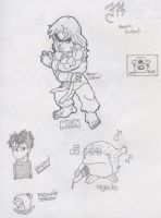 Chibi galore by Whatsome