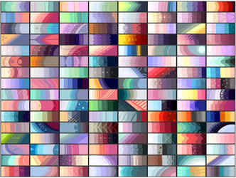 F2U Colour palette by KittenSquitten