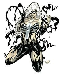 Heroes Con 2014: Black Cat Symbiote by Shono