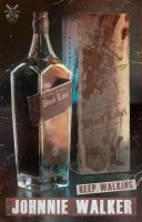 Johnnie Walker Blood Label by Mavko