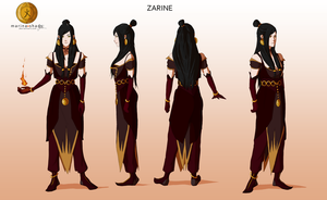 Zarine -Avatar character concept design- by Marina-Shads