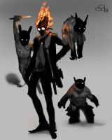 Match and His Minions by Manikk