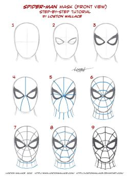 Spider-man's Mask Tutorial by LostonWallace