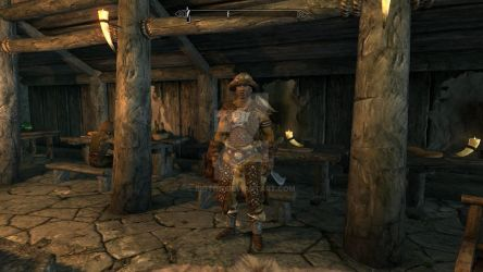 Shiraghul, Horse-Archer of the Whiterun Tribe by bigton