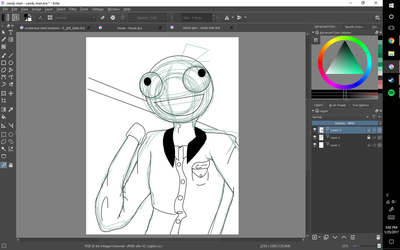 Candy man wip by RikoriStorm
