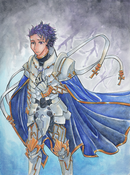 Knights of the Round Table - Lancelot by shadowknightpaladin