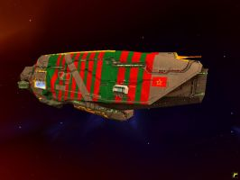 Red Army Vaygr Flagship by Roflbot