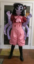 Muffet Cosplay by NeitherSparky
